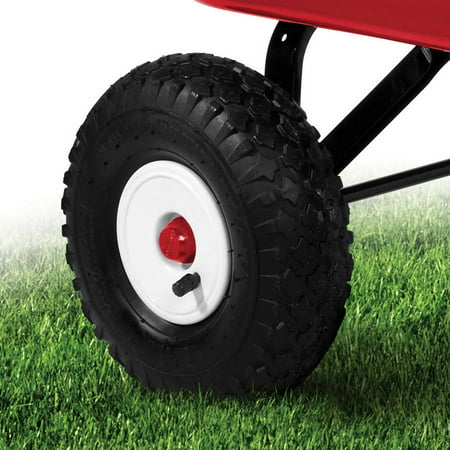 Best Radio Flyer, Big Red Classic ATW Wagon, All-Terrain Air Tires, Red deal