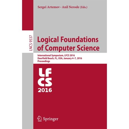 Logical Foundations of Computer Science - eBook