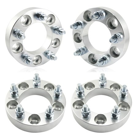 4pcs WHEEL SPACERS ADAPTERS ¦ 5X4.75 TO 5X4.75 ¦ 12X1.5 STUDS ¦ 1.25 INCH 5 LUGS * Lug Stud Connector