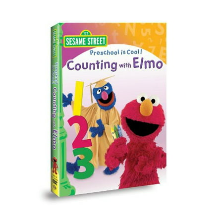 Preschool Is Cool: Counting with Elmo (DVD)](Count Dracula Elmo)
