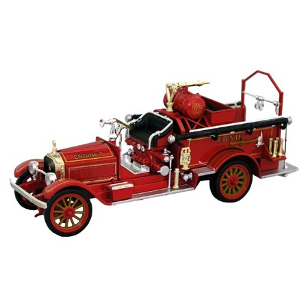 1921 American LaFrance Fire Pumper Engine 7, Red - Signature Models 32371 - 1/32 Scale Diecast Model Toy Car ()