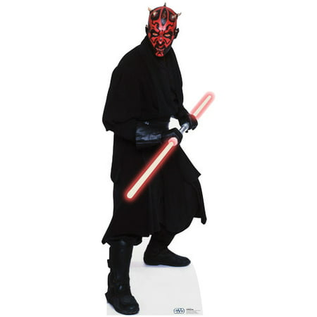 Star Wars Darth Maul Lifesize Standup Standee Cardboard Cutout Poster #1213