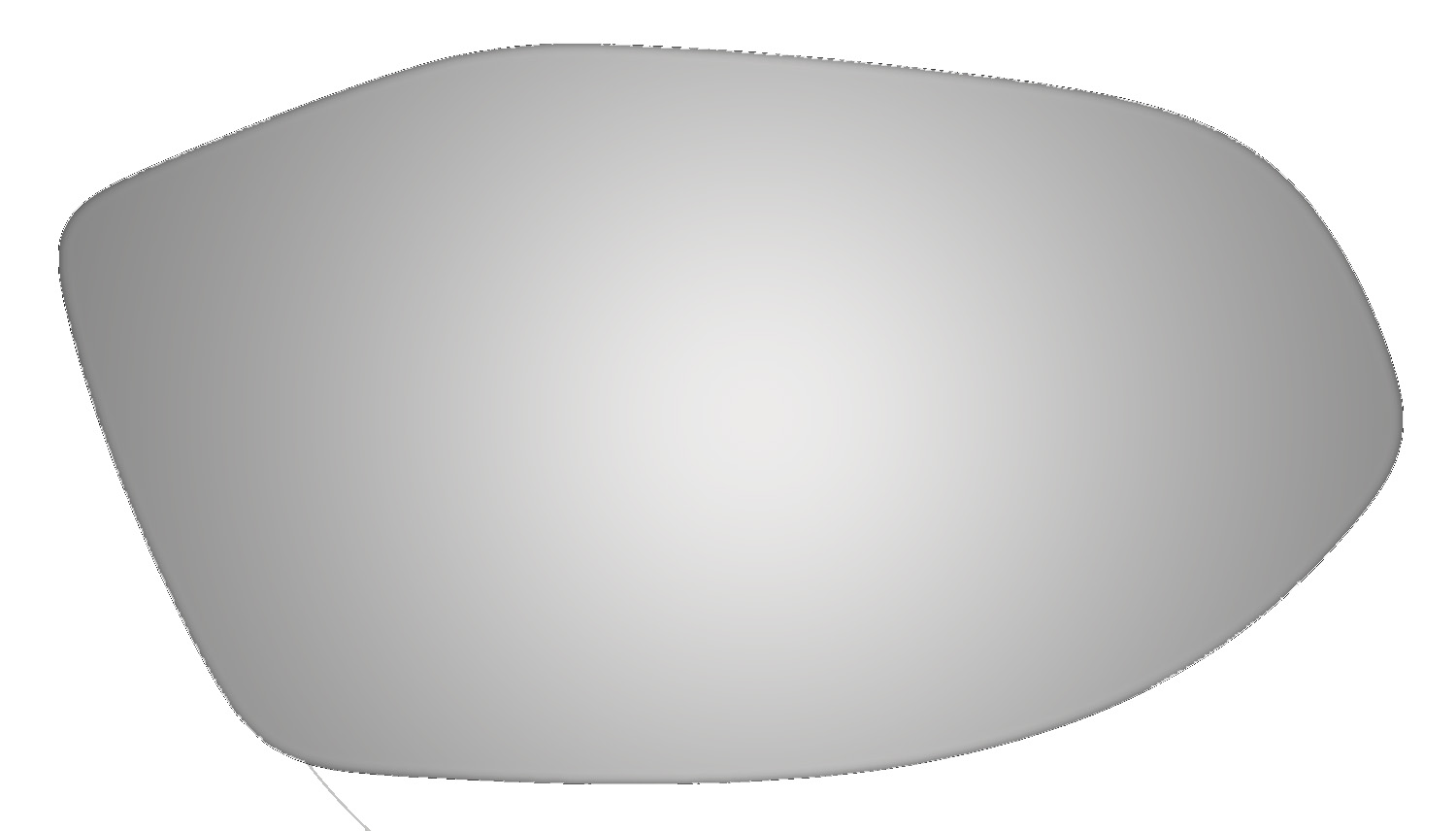 Replacement New Wing Mirror Glass AUDI A2 Driver Side
