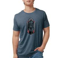 CafePress - Captain Marvel Logo Mens Tri Blend T Shirt - Mens Tri-blend T-Shirt