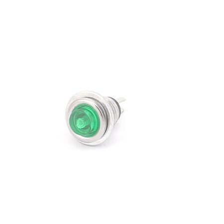 8mm Mount Dia  Push Button Switch Momentary Type Plastic Head