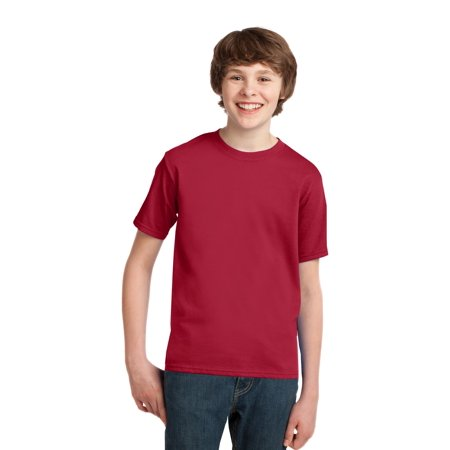 Port & Company® - Youth Essential Tee. Pc61y Red S - image 1 de 1
