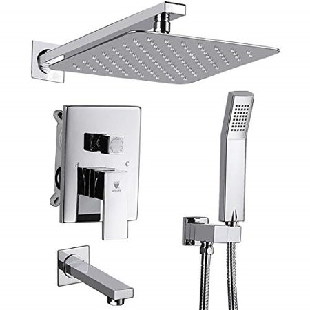 Himk Shower System Shower Faucet Set With Tub Spout For