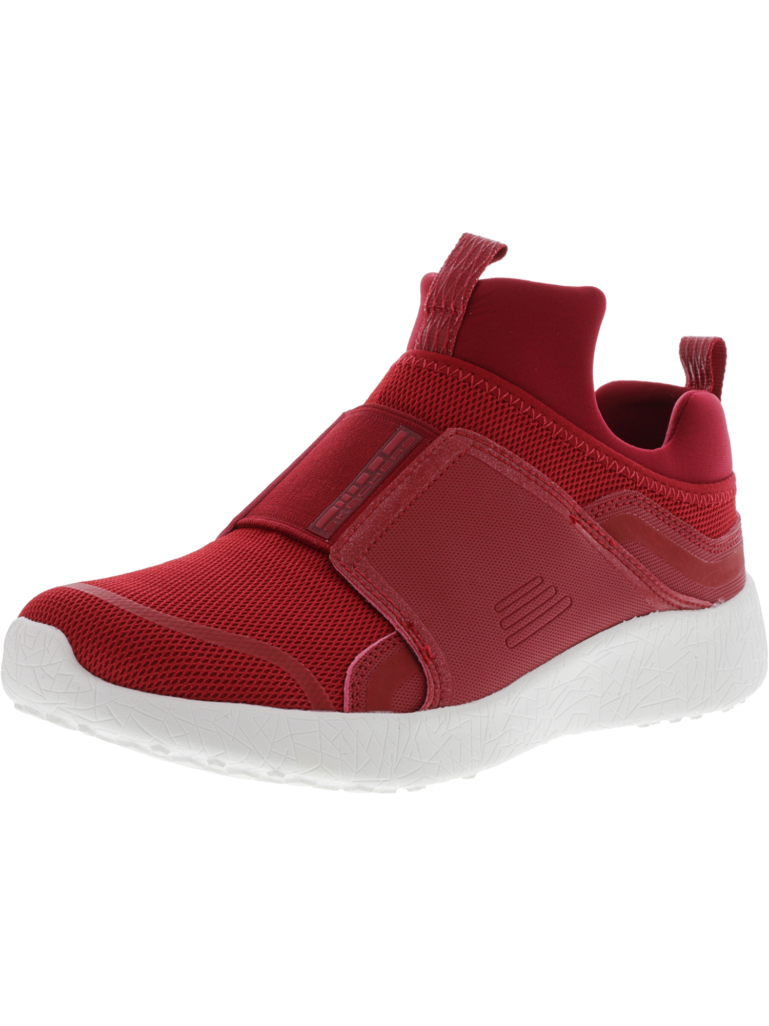 Red Mid-Top Mesh Training Shoes 7.5