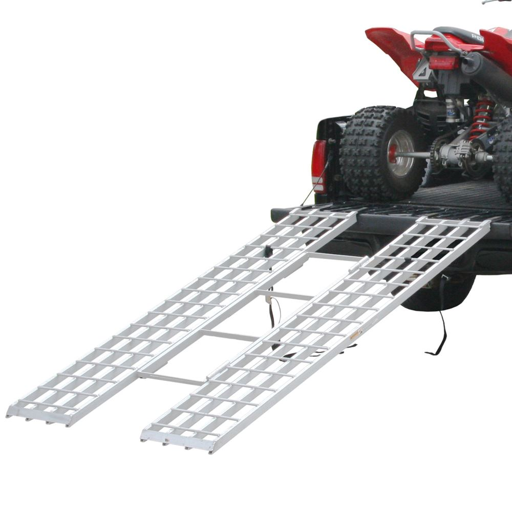 "Black Widow Aluminum Tri-Fold ATV Loading Ramp - 85"" x 46"""
