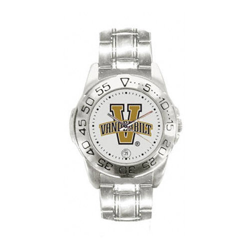 NCAA - Vanderbilt Commodores Women's Sport ''Game Day Steel'' Watch