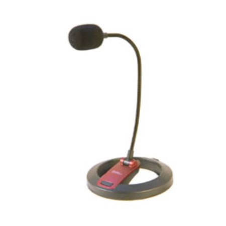 Lectern Gooseneck Mic (Connectland Flexible Gooseneck Microphone with Desktop Stand -38 dB +/- 2 dB )
