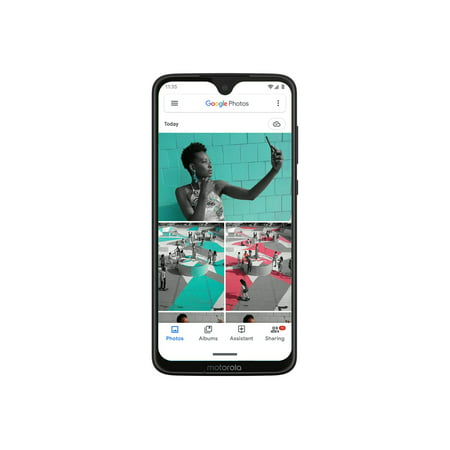 Motorola Moto G7 64GB Unlocked Smartphone, Black