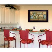 Trendy Decor 4u Country Kitchen By Mary June Framed Graphic Art