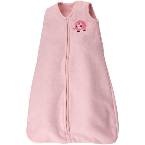 Little Bedding by Nojo Jungle Wearable Blanket, Raspberry (Size SM/MED)