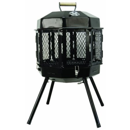 Masterbuilt GMFP20 Grizzly Cub Portable Fireplace and Grill ()