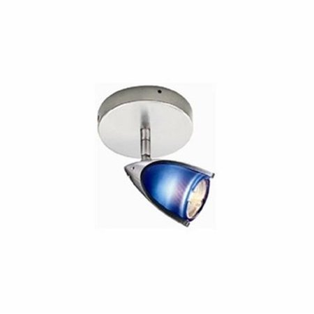 Satin Chrome Electronic (3 - Light Line Voltage Fixture - Die Cast With Glass, With 50W Built-In Electronic Transformer - Satin Chrome)