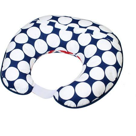 Bacati MixNMatch Navy/Red Nursing Pillow