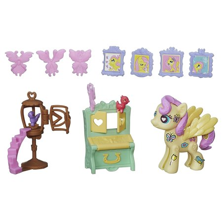 Pop Fluttershy Cottage Decorator Kit, Build your own pony with the Fluttershy Cottage Decorator Kit By My Little