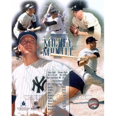 Issue Mickey Mantle - Mickey Mantle Legends Sports Photo