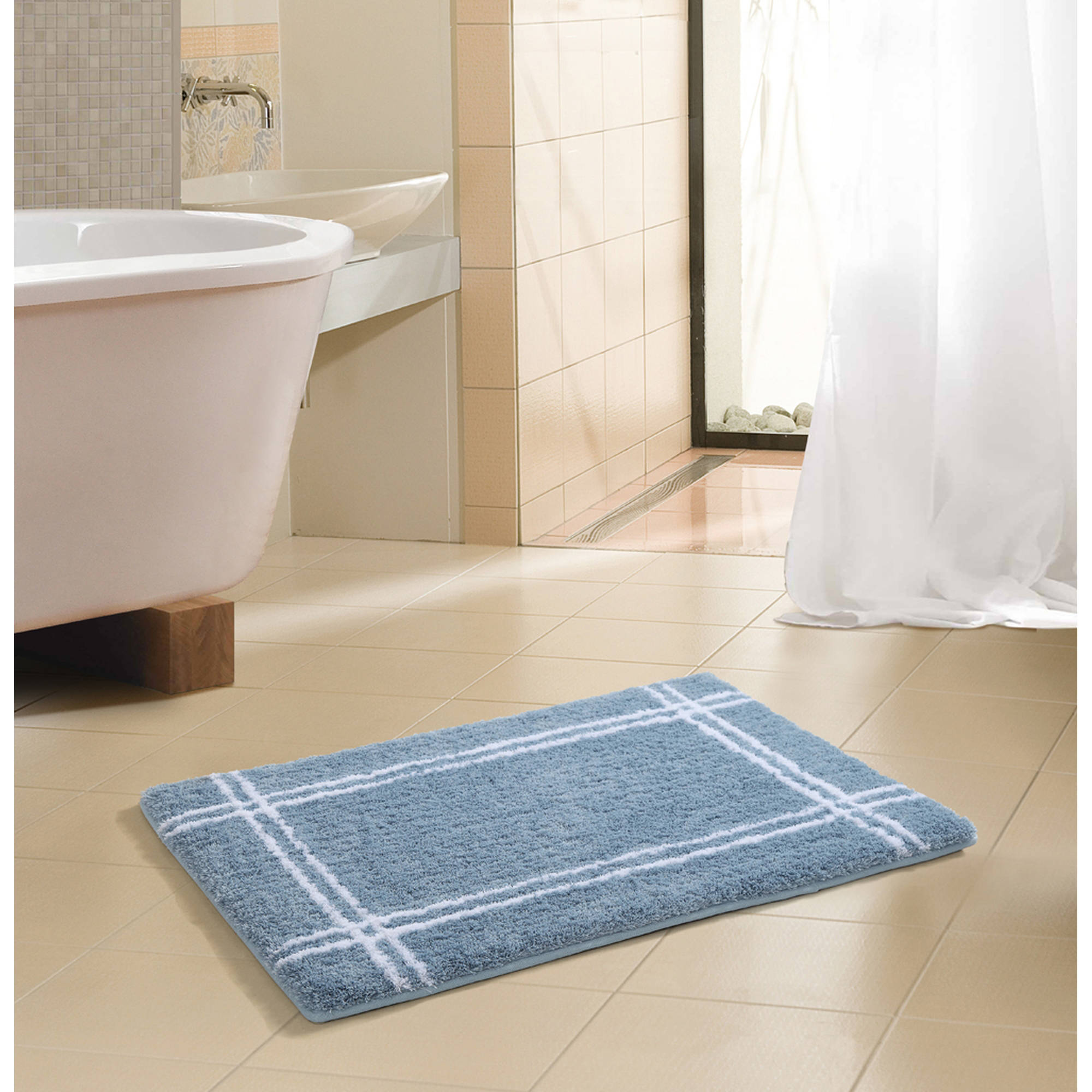 "***DISCONTINUED*** VCNY Home Traverse 18""x28"" Hotel Style Bath Rug"