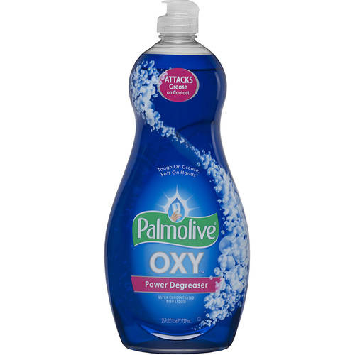 Ultra Palmolive Oxy Plus Power Degreaser Concentrated Dish Liquid, 25 oz
