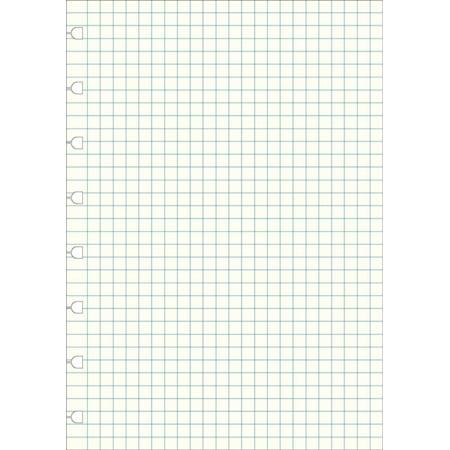 Filofax A5 Notebook Squared Paper Refill (Diary)