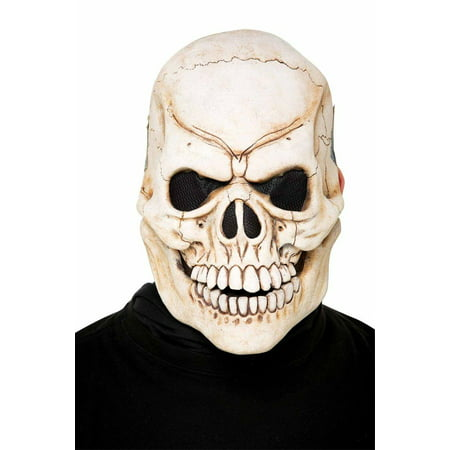 Don Post Skull Full Face Kit Costume Appliance - Post Apocalyptic Costumes