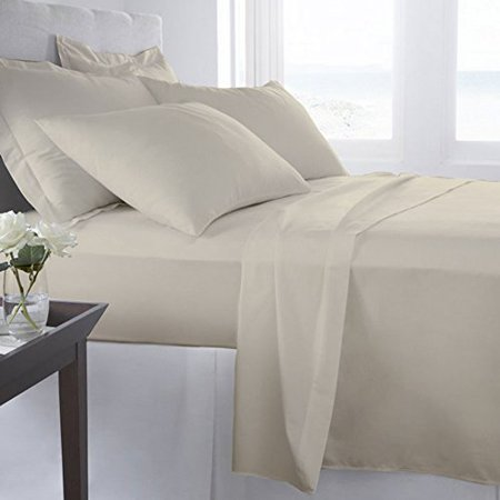 Twin XL Size Flat Sheet + 2PC Pillowcases Only   400 Thread Count