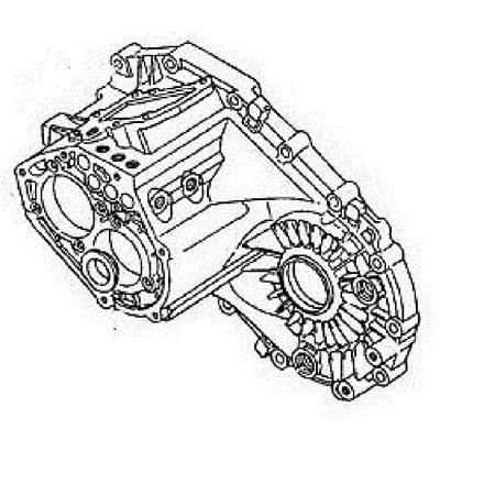 5 Speed Transmission Case (GM Transmission Case Part Number 97101479. GM Vehicles 5-Speed Manual )