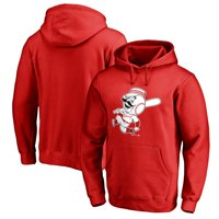 Cincinnati Reds Fanatics Branded Cooperstown Collection Huntington Pullover Hoodie - Red