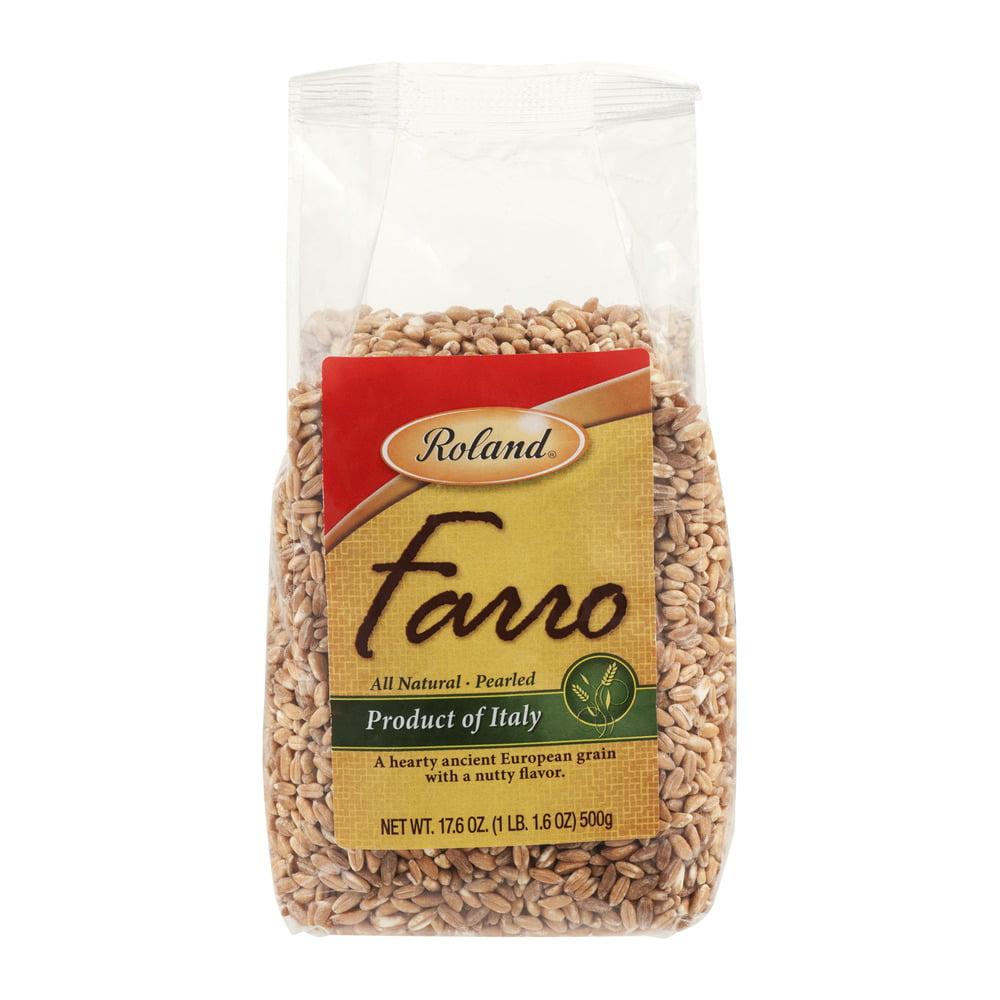 Roland Pearled Grain Farro, 17.6 OZ