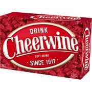 Cheerwine Soft Drink, 12 Fl. Oz., 24 Count