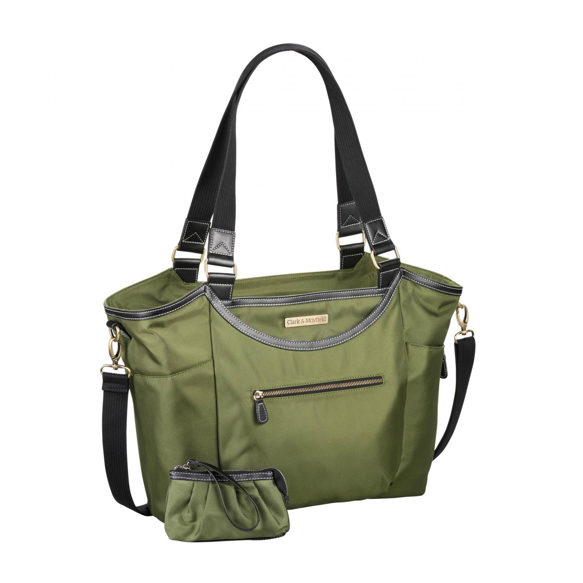 """Clark & Mayfield Bellevue 18.4"""" Laptop Handbag"""