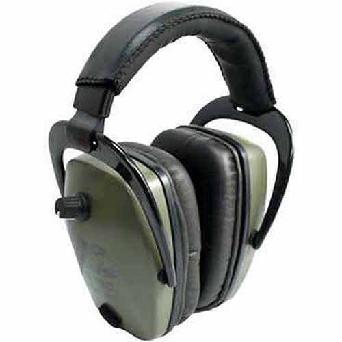 Pro Ears Electronic Hearing Protection Pro Tac Slim Gold, Green