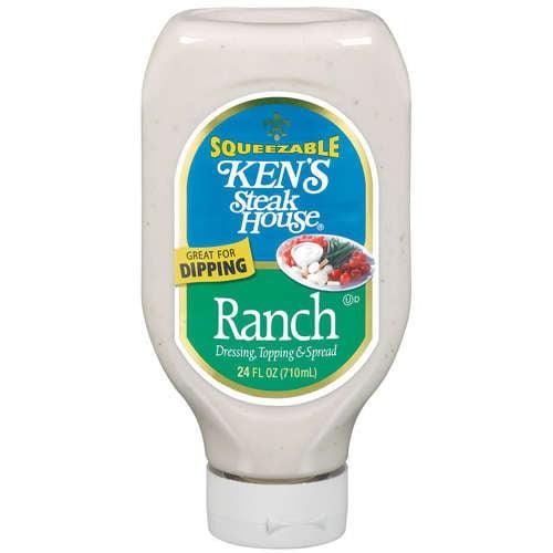 Ken's Steak House Ranch Dressing Topping & Spread, 24 oz