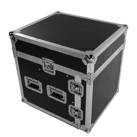 Ktaxon Studio Mixer Cabinet Road Case - 12U Space Saving Case Pro-Audio Stand Equipment Travel Flight Case For DJ Music