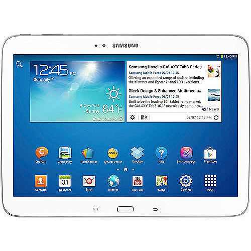 "Samsung Galaxy Tab 3 10"" Tablet 16GB Memory"
