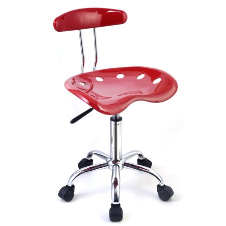 Costway Abs Tractor Seat Adjustable Bar Stools Swivel