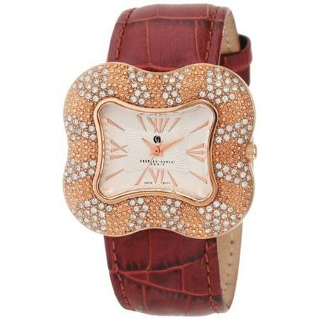 Charles-Hubert, Paris Women's 6754-RG Premium Collection Rose-Gold Stainless Steel Watch ()