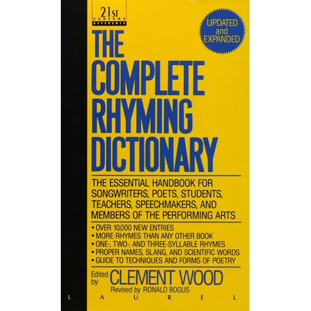- The Complete Rhyming Dictionary : Updated and Expanded