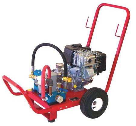 Wheeler Rex 5.5 HP Gas Powered Twin Piston Hydrostatic Test Pump