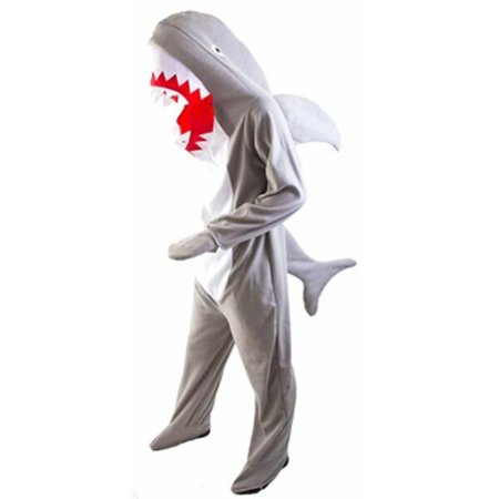 Adult Grey Shark Costume - Adult Shark Costume