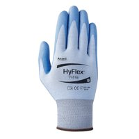 ANSELL 11-518 HyFlex® Blue Cut Resistant Gloves,Size 9,1PR