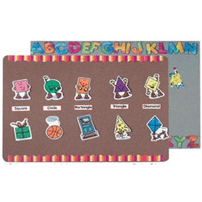 AARCO Products RDF1824014 Radius Edge Wedgwood Fabric Wrapped Display Board
