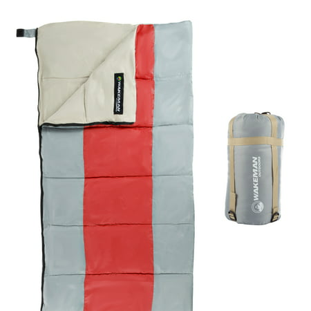 Wakeman Outdoors 45 Degree Lightweight Sleeping Bag ()