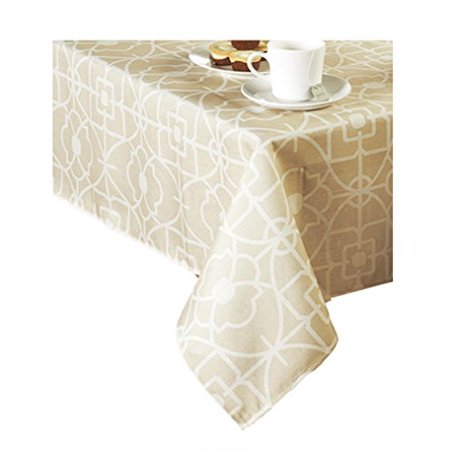 Gateway Geometric Print Zippered Umbrella Tablecloth (60 Round Umbrella)