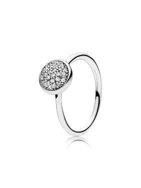 13cf326e7 Product Image Ring Dazzling Droplet w/Clear CZ Ring sz 52 191009CZ-52.  Product TitlePANDORARing ...