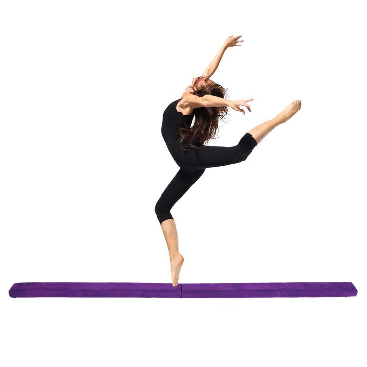 2.1M Balance Beam Home Gymnastics,Foldable Gymnastics Balance Beam,Balance Beam For Kids Cleanance by