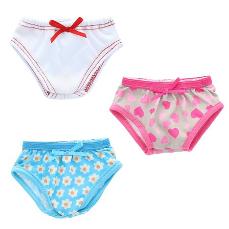 - Doll Clothes - Underwear Panties Set Fits American Girl 18