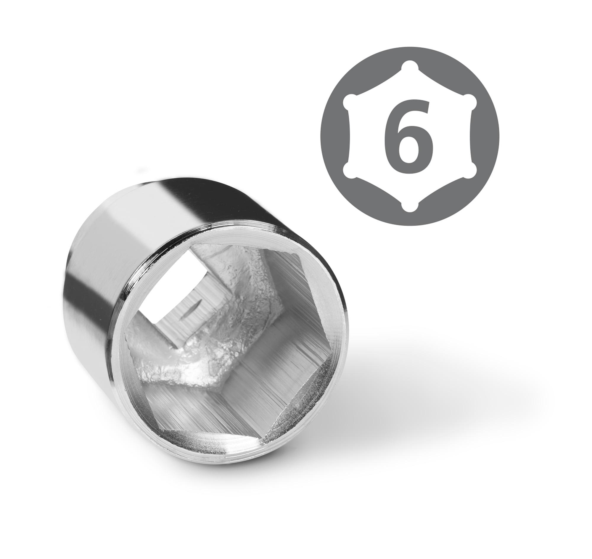 TEKTON 3/4-Inch Drive Jumbo Socket Set, Inch, 7/8-Inch - 2-Inch, 21-Piece   1115